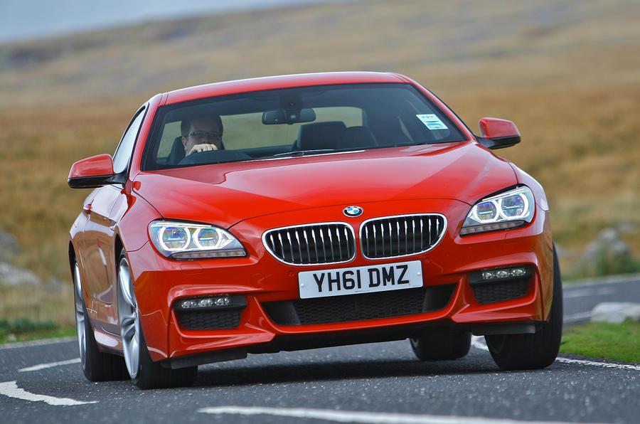 BMW 6 Series cornering