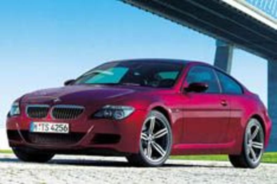 BMW unleashes M6 supercoupe