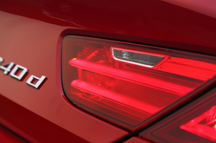 BMW 6 Series rear lights