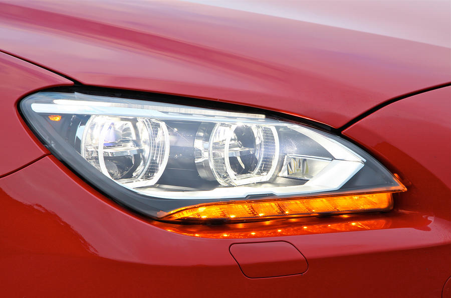 BMW 6 Series double corona headlights