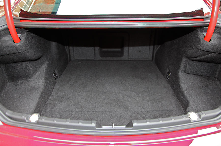 BMW 6 Series boot space