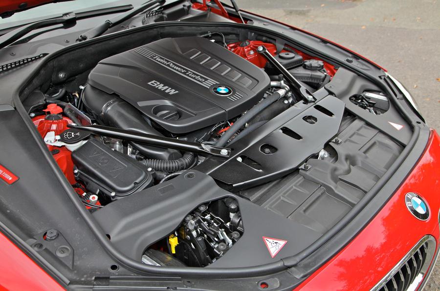 BMW 650i V8 engine