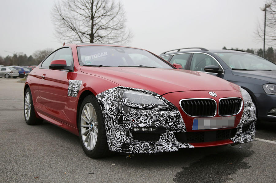 January reveal for facelifted BMW 6-series