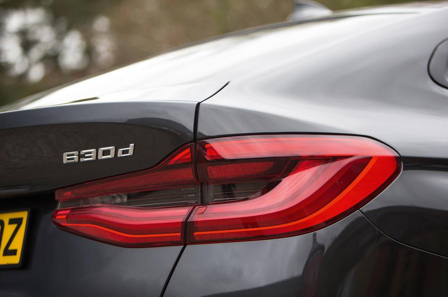 BMW 6 Series Gran Turismo rear lights