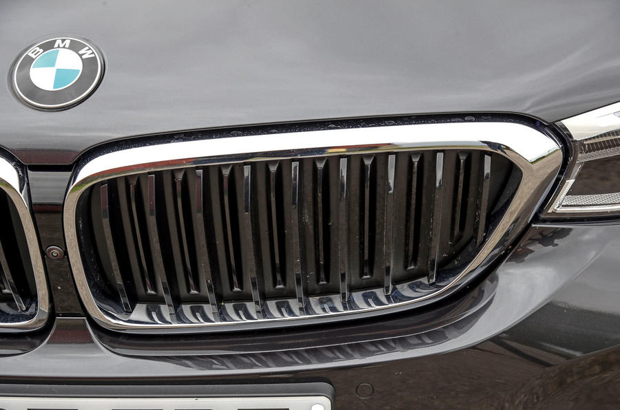 BMW 6 Series Gran Turismo active air vents