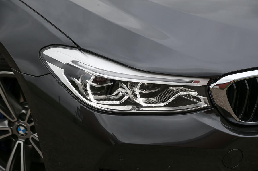 BMW 6 Series Gran Turismo LED headlights