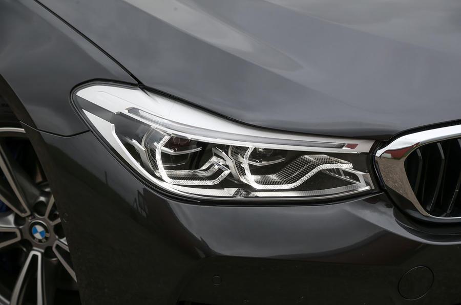 BMW 6 Series Gran Turismo LED headlights