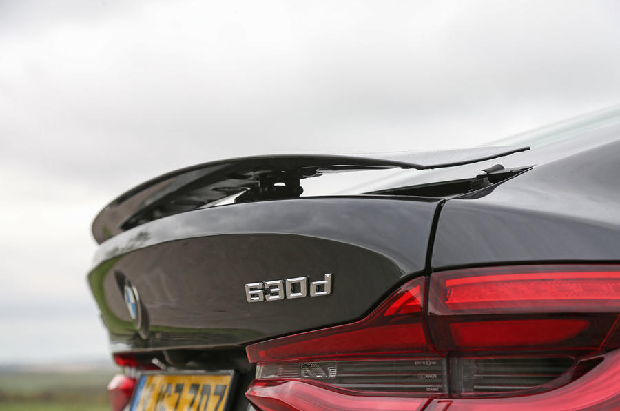 BMW 6 Series Gran Turismo rear spoiler