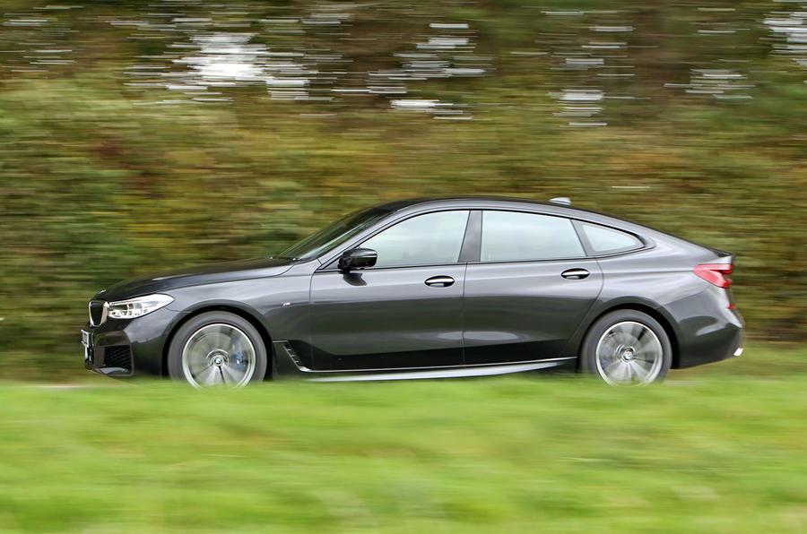 BMW 6 Series Gran Turismo side profile