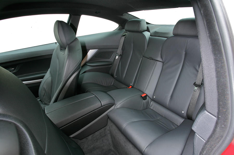BMW 6 Series rear seats