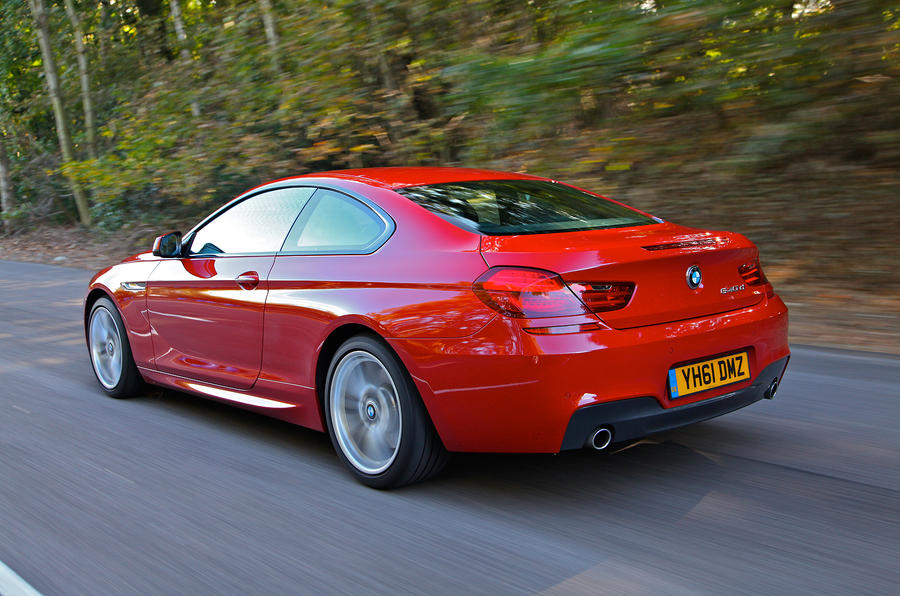 BMW 6 Series rear quarter