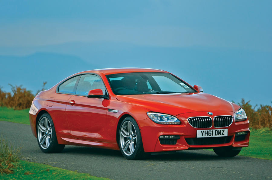 4 star BMW 6 Series coupé