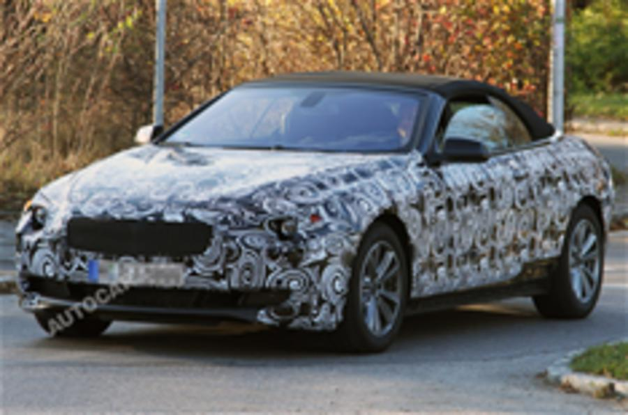 Next BMW 6-series spied