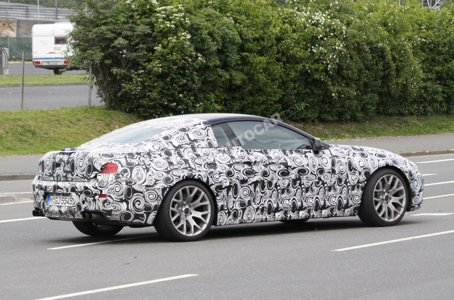 Hot new BMW 6-series spied