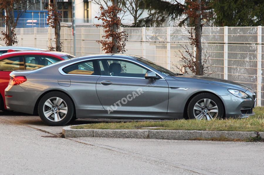 BMW 6-series coupe scooped