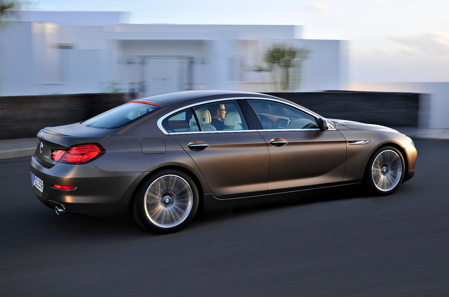 BMW 6-series Gran Coupé unveiled