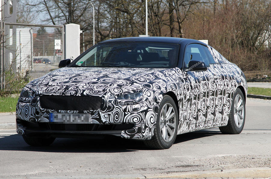 New BMW 6-series - spy video