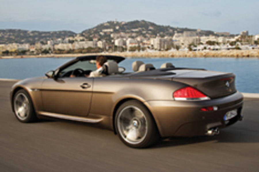 £86k for M6 cabrio; revised X3 pricing