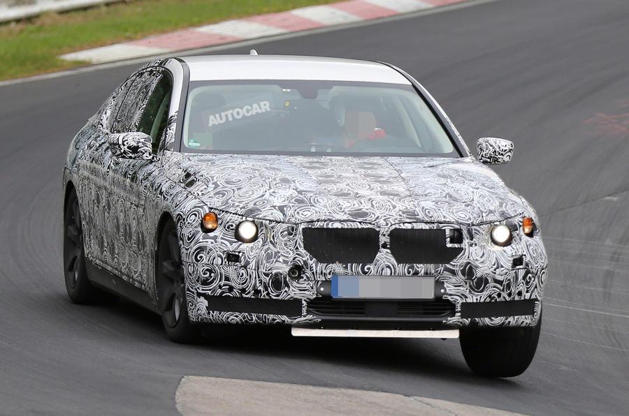 Next-gen BMW 7-series interior spied