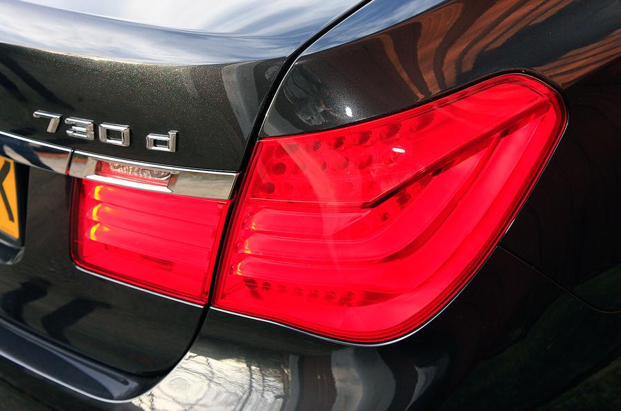 BMW 7 Series rear lights
