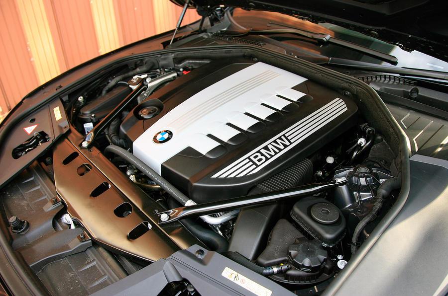 BMW 7 Series diesel engine
