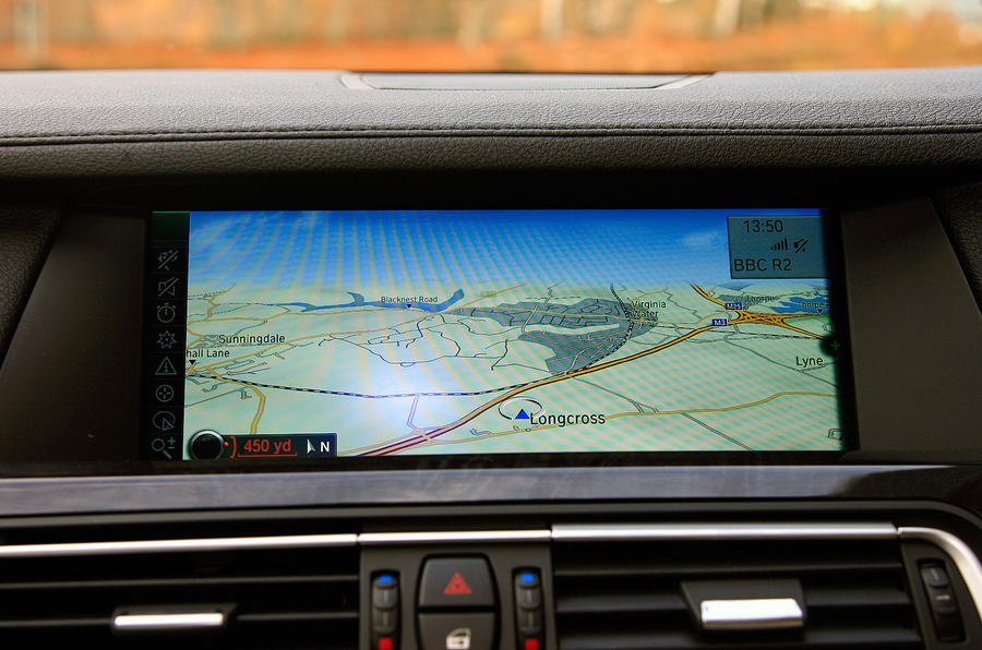 BMW 7 Series iDrive system