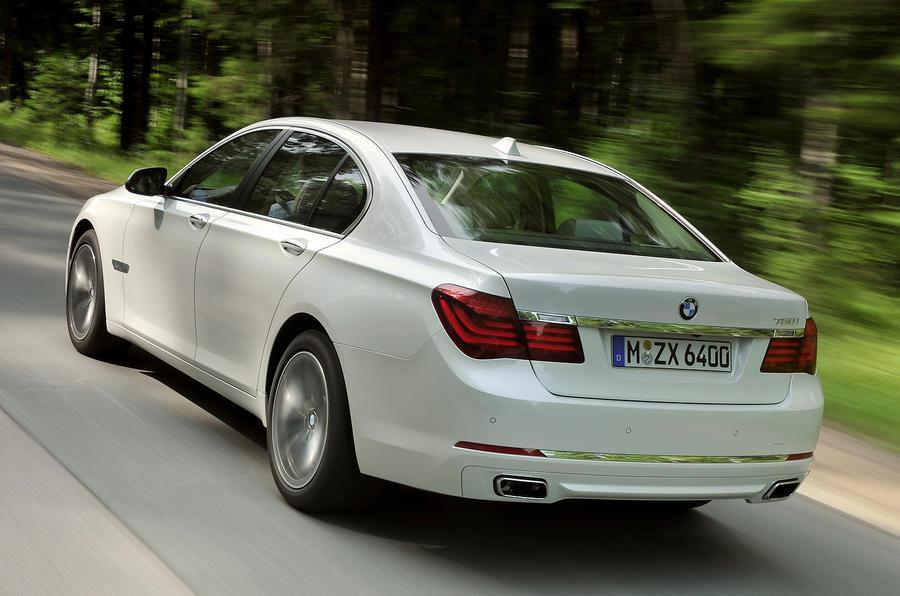 BMW 750i rear