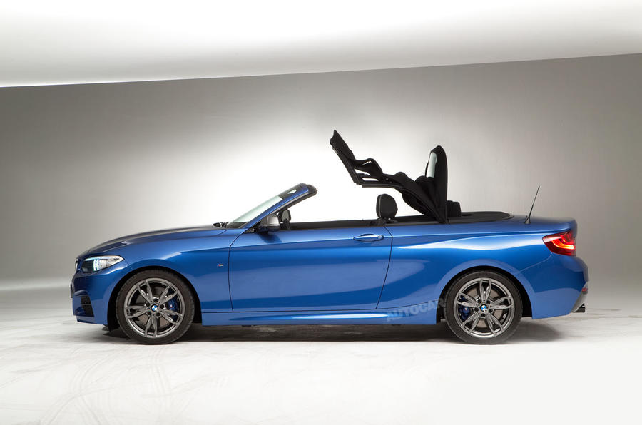 BMW reveals soft-top 2-series convertible