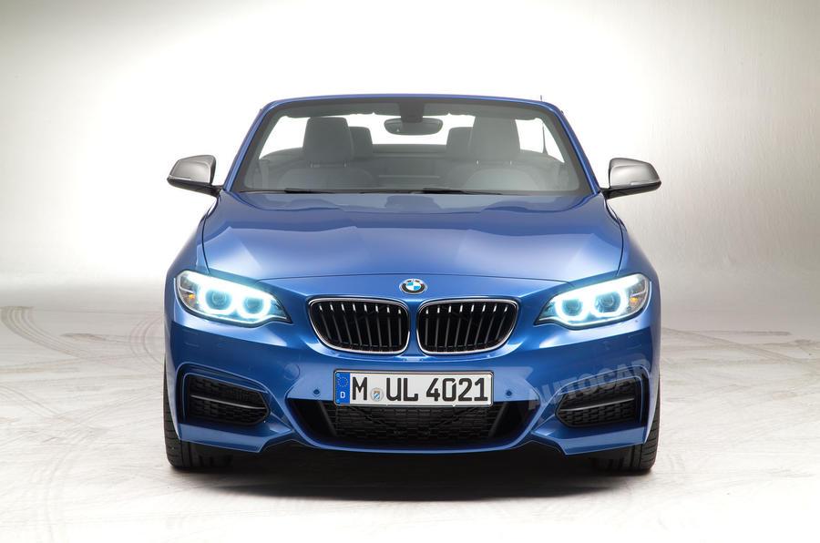 BMW reveals soft-top 2-series convertible