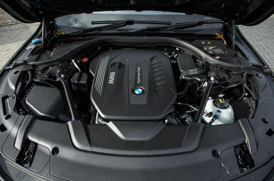 BMW 7 Series's 3.0-litre diesel engine