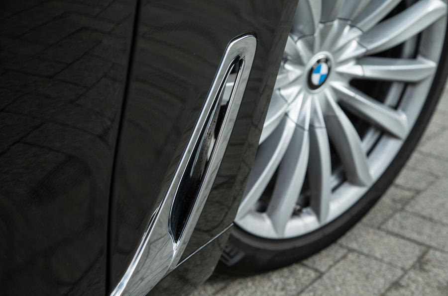 Air vents on the 7 Series