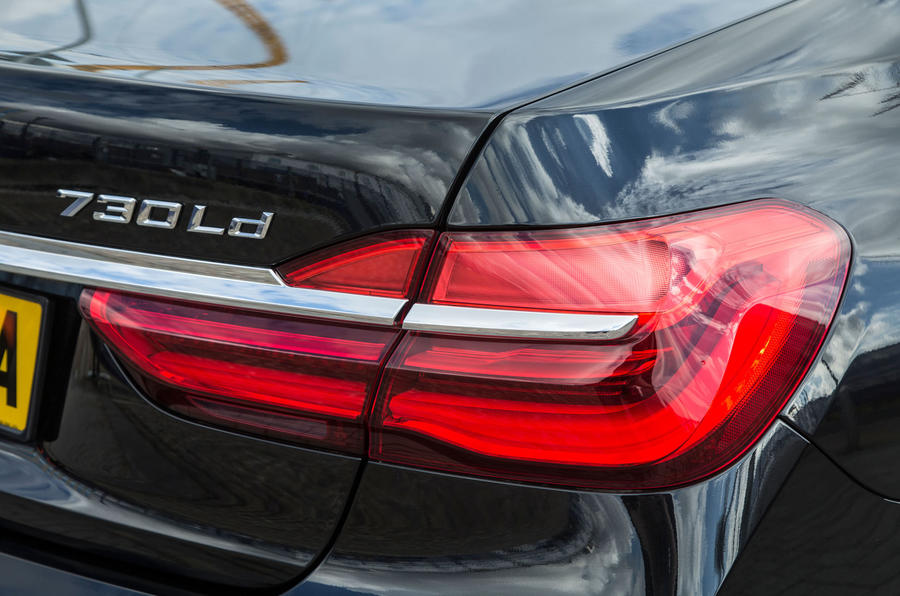 Rear LED Lights On 7 Series BMW