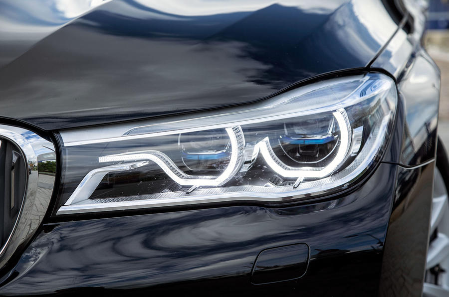BMW 7 Series's LED headlights