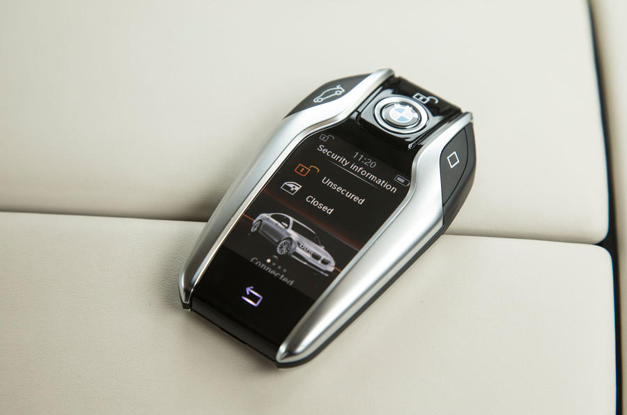 BMW 7 Series Display Key