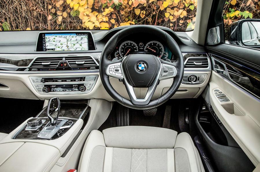 ... BMW 7 Series Interior ...