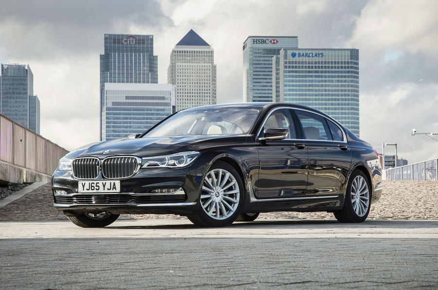 4 star BMW 7 Series