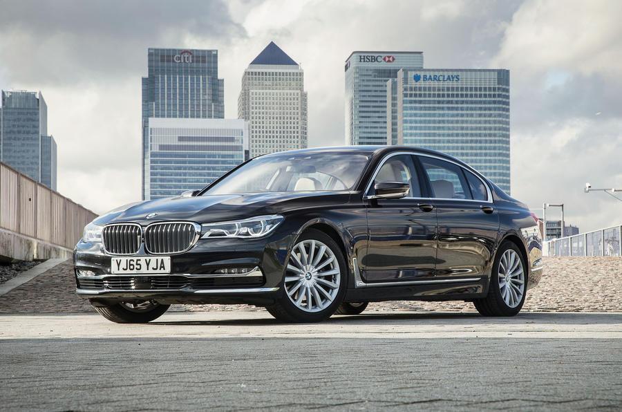 4 star BMW 7 Series