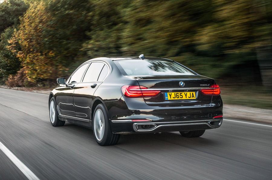 BMW 7 Series; BMW 7 Series Rear ...