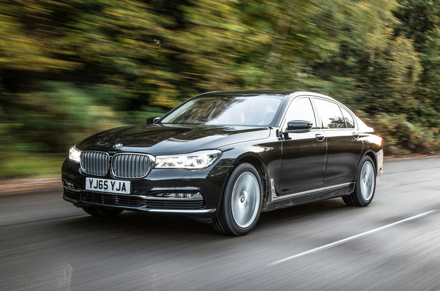 Captivating BMW 7 Series ...