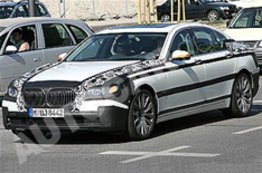 BMW 7-series spied
