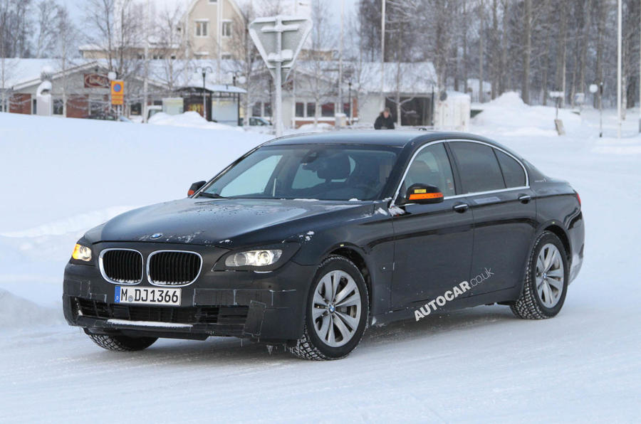 Spy pictures: BMW 7-series