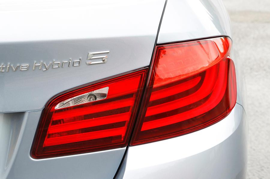 BMW ActiveHybrid 5 taillights