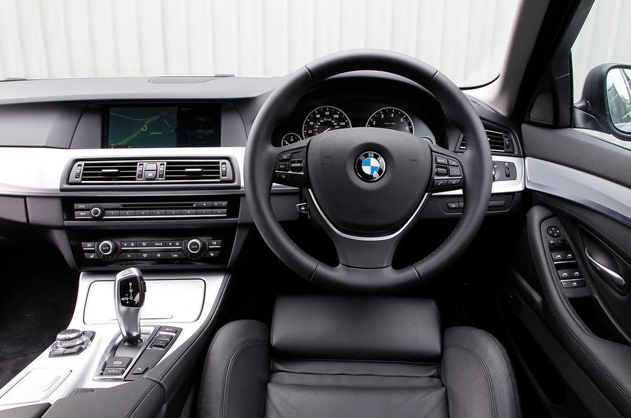 BMW ActiveHybrid 5 interior