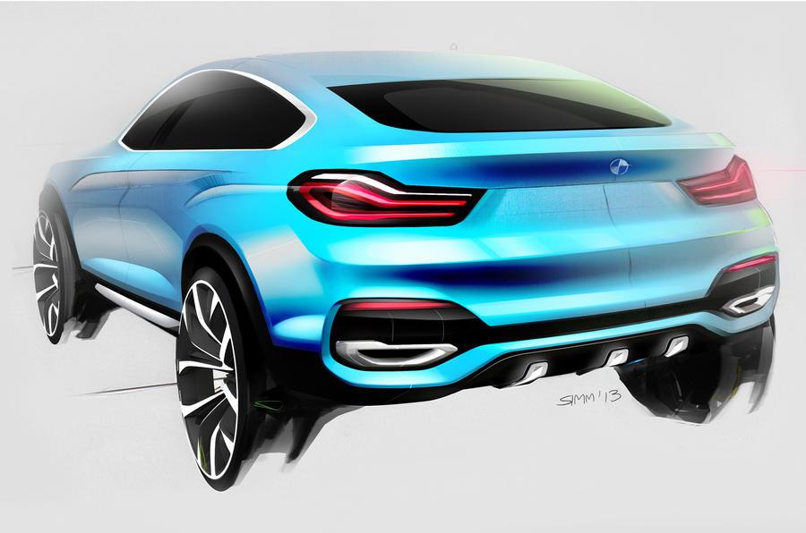 BMW Concept X4 revealed