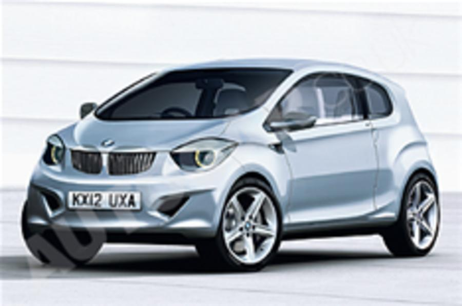BMW confirms electric city car