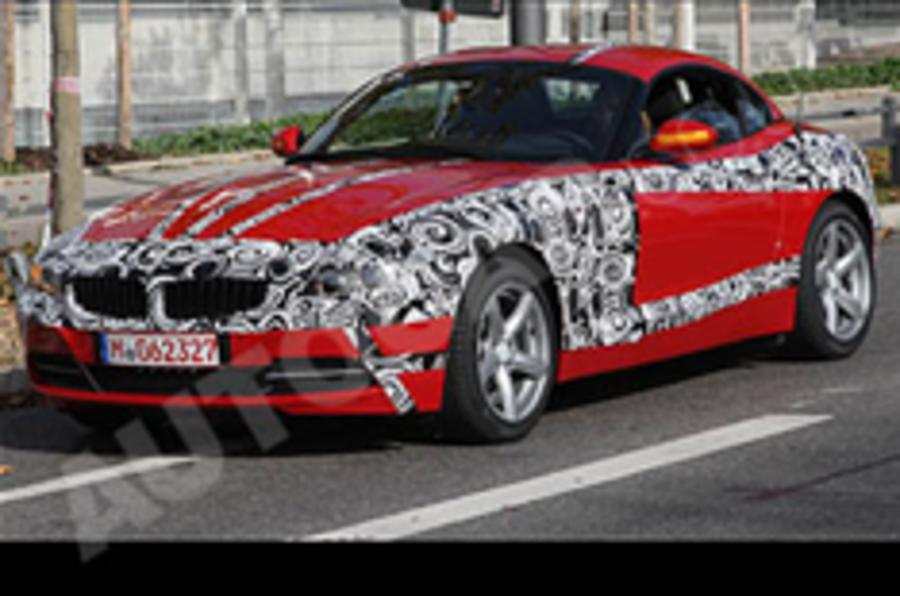 Spied:BMW Z4
