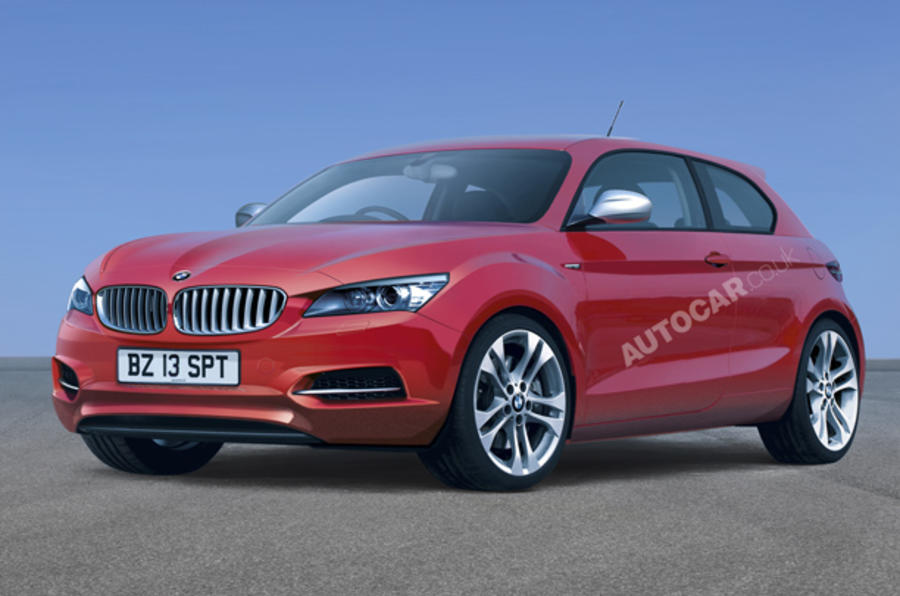 BMW's radical front-drive baby
