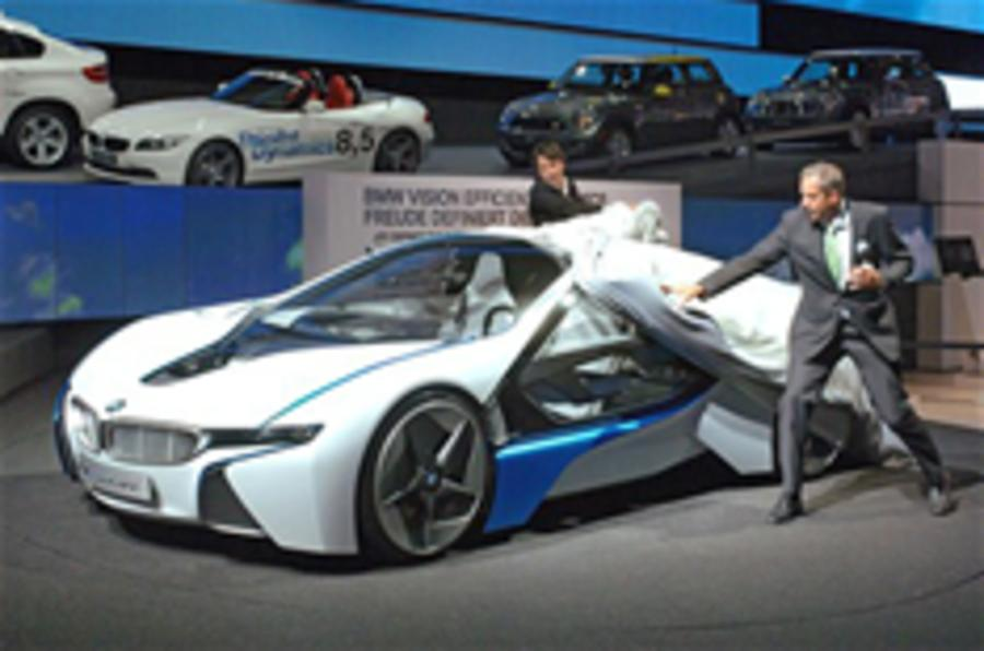 BMW Vision EfficientDynamics unveiled