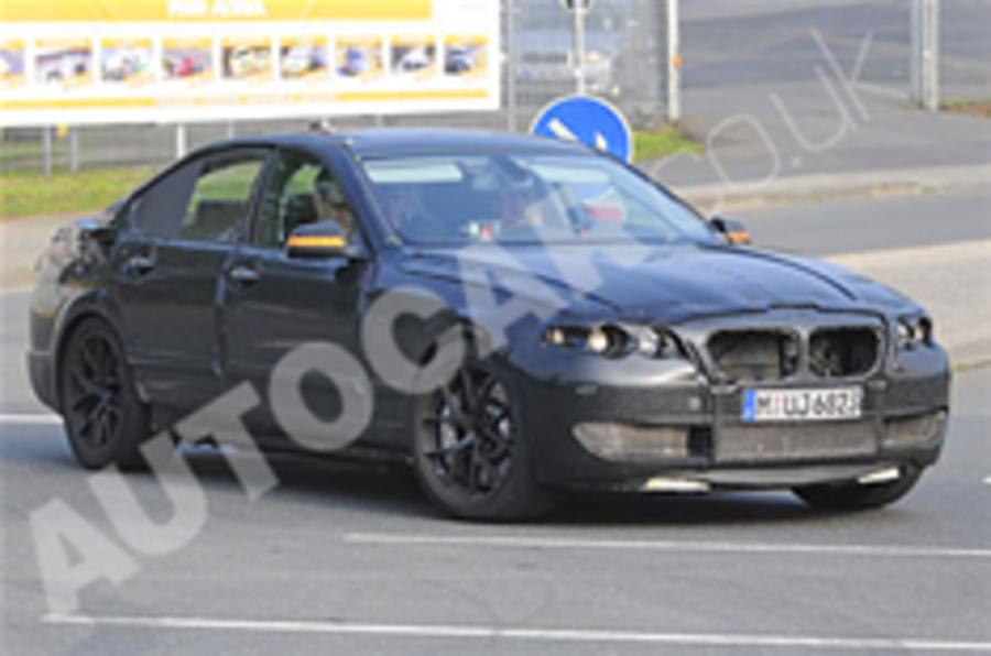 2011 BMW M5 breaks cover
