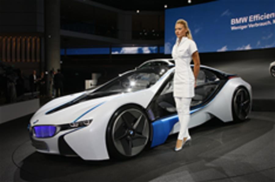 Frankfurt update: BMW Vision ED